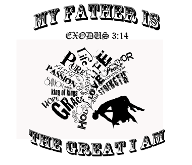 The great I am t shirt design