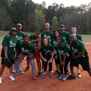 The Fidelity Softball Team from Durham, NC