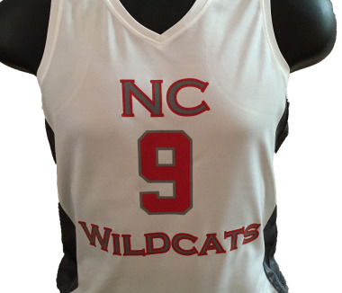 AAU Home Jerseys for NC Wildcats